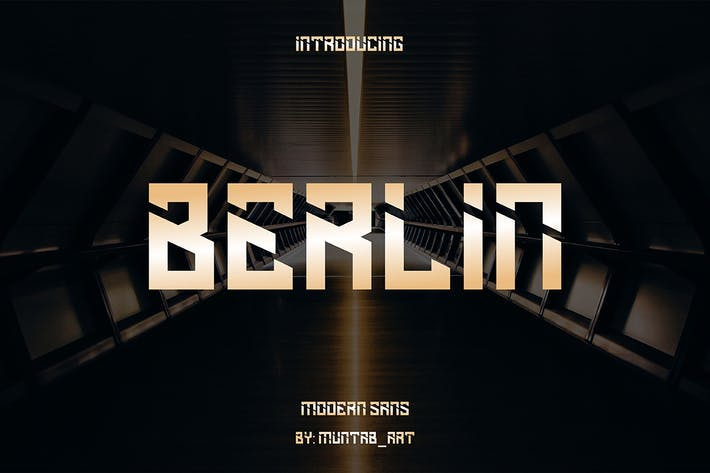 Thumbnail for Berlín | Modern Sans