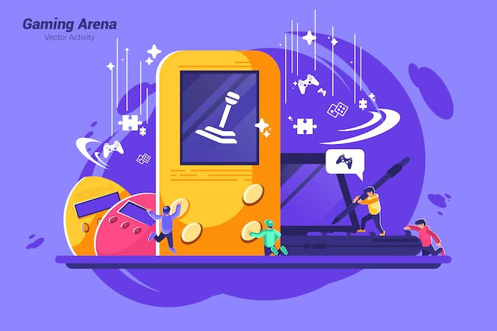 Thumbnail for Gaming Arena - Vector Illustration