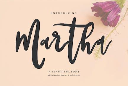Martha | A Beautiful Font