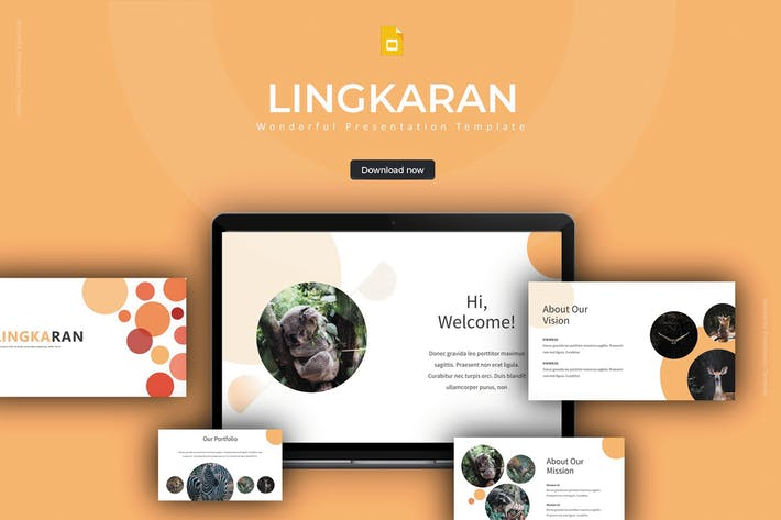 Thumbnail for Lingkaran - Google Slides Template