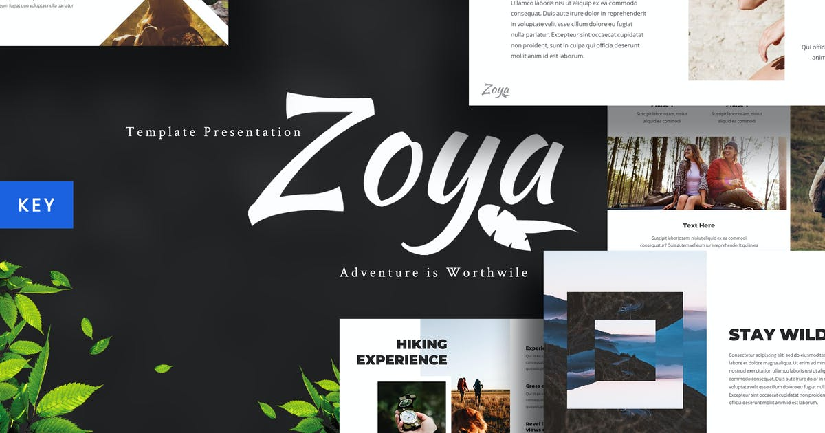 Download Zoya - Nature Keynote Template by maghrib