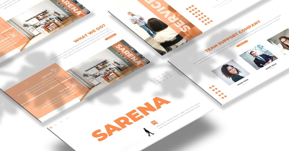 Download Sarena - Powerpoint / Google Slides / Keynote by Macademia