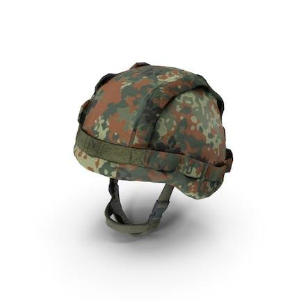 Casco y cubierta militar Bundeswehr