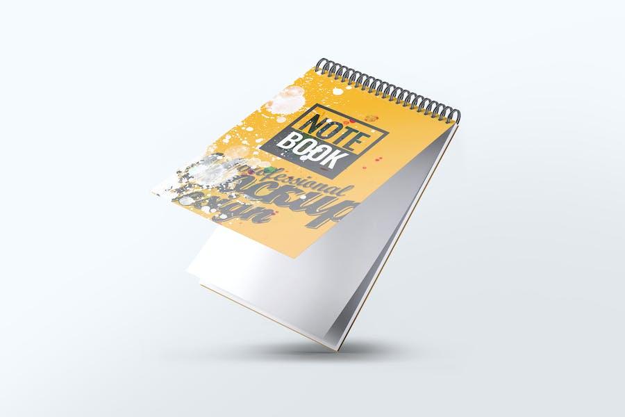 Spiral Sketchbook Mock-Up