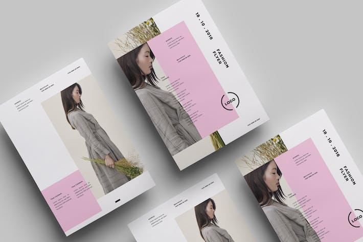 Thumbnail for Minimalist Flyer Design.12