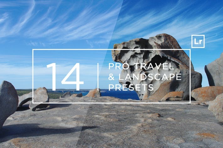 Thumbnail for 14 Pro Travel & Landscape Lightroom Presets