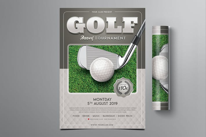 Thumbnail for Golf Competition Flyer