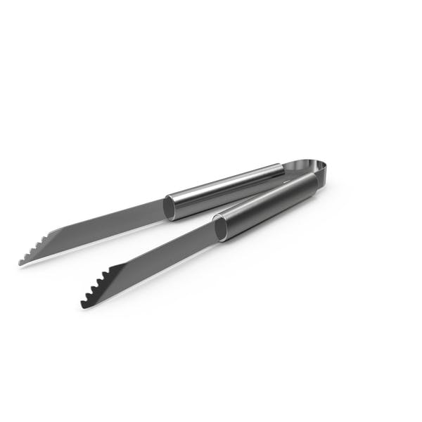 Thumbnail for Stainless Steel BBQ Tongs