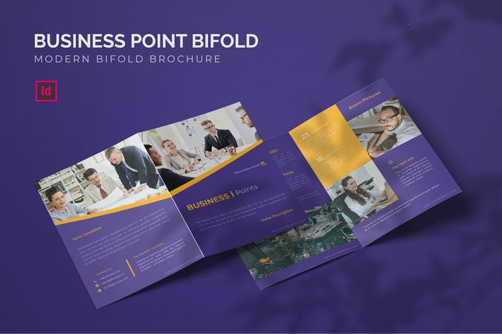 Thumbnail for Business Point - Bifold Brochure