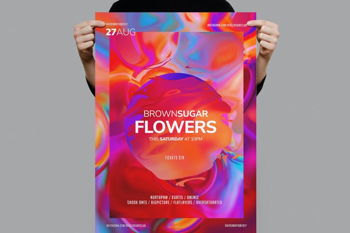 Thumbnail for Flowers Flyer / Poster Template