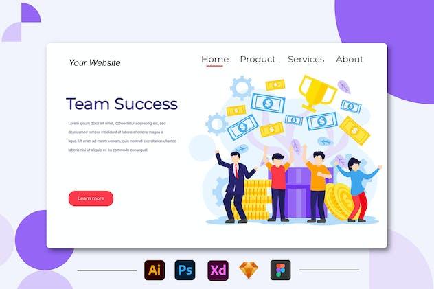 Team Succes - Landing Page