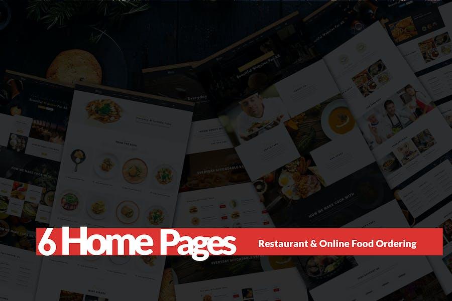 Take Away Restaurant & Online Food Ordering
