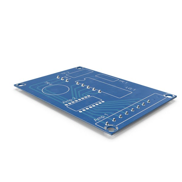 Empty Printed Circuit Board