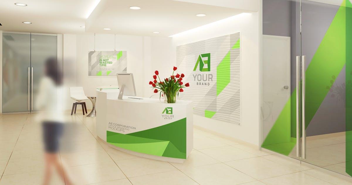 Office Branding Mockups V5 by Wutip
