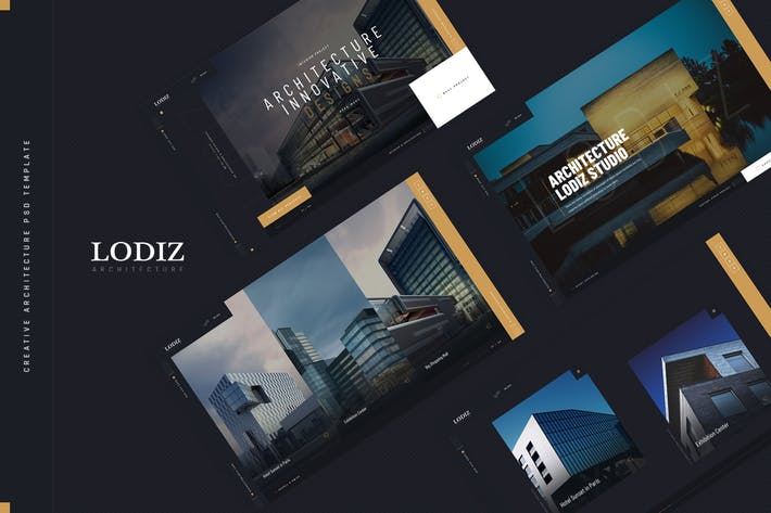 Thumbnail for Lodiz - Creative Architecture PSD Template