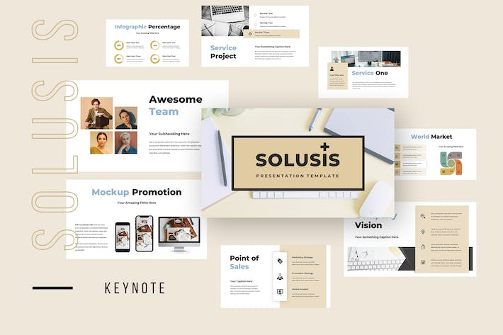 Thumbnail for Solusis - Business Keynote Presentation