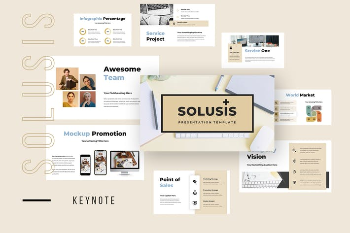 Solusis - Business Keynote Presentation