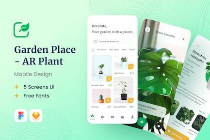 AR Plant UI Kit