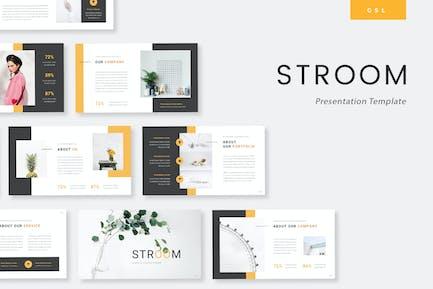 Stroom - Creative Google Slides Template