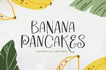 Tipo de letra Banana Pancake