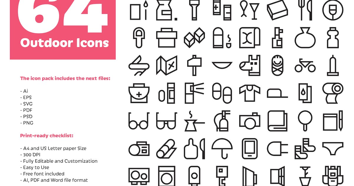 Download Outdoor Icons by spovv
