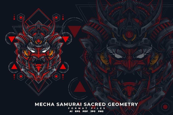 Thumbnail for MECHA SAMURAI SACRED GEOMETRY