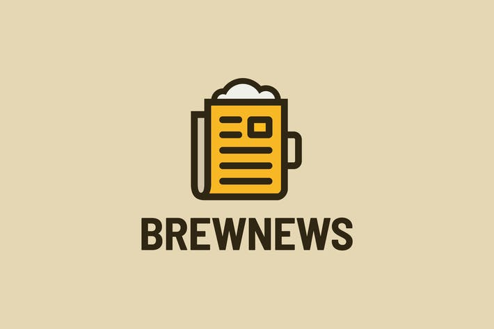 Thumbnail for Brew News — Logo Template