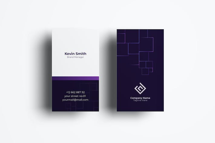 Thumbnail for Business Card Template.v58