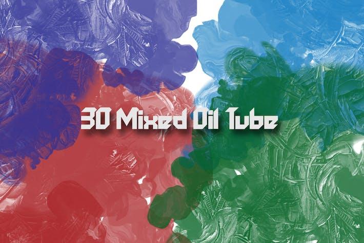 Thumbnail for 30 смешанных масляных трубных Кисти