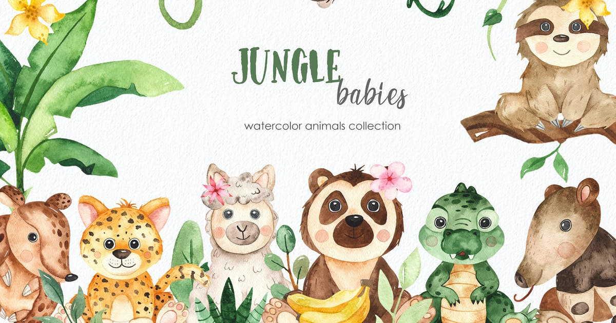 Animals And Their Babies Clipart