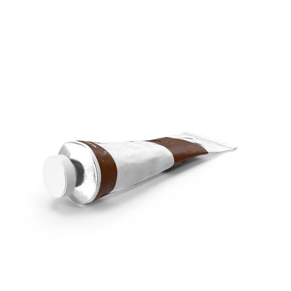Sienna Acrylic Paint Tube