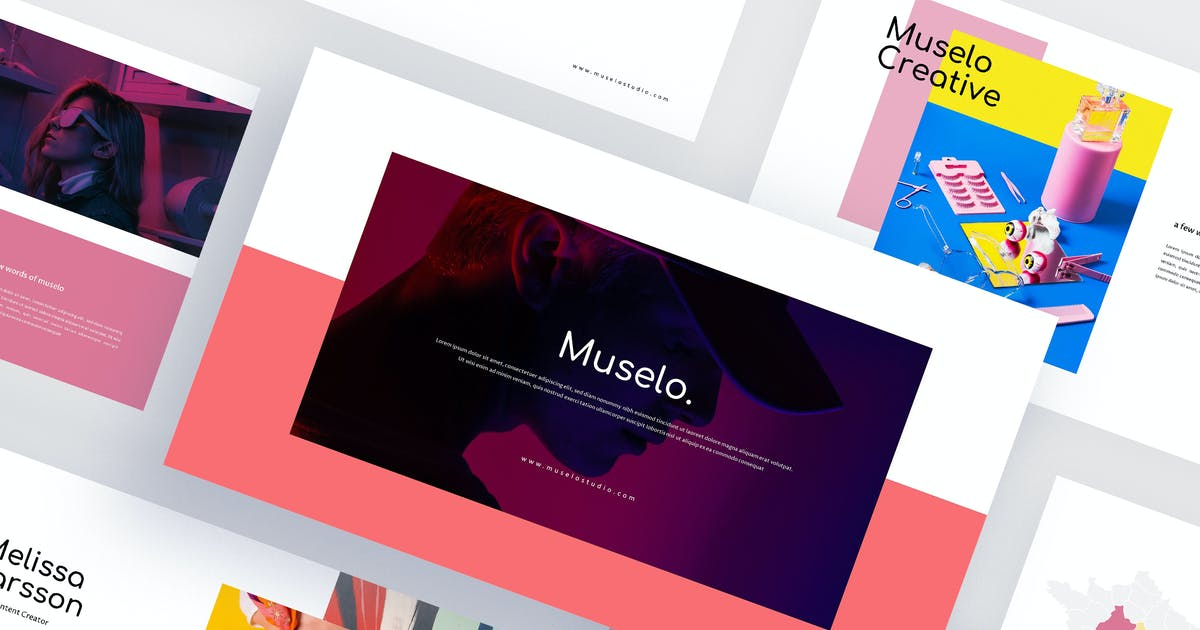 Download Muselo - Creative Powerpoint Template by eunavia