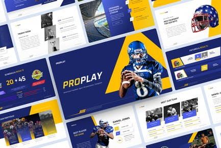 American Football Sport Keynote Template