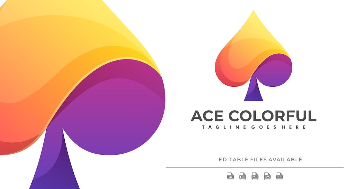 Download Ace Gradient Colorful Logo by artnivora_std