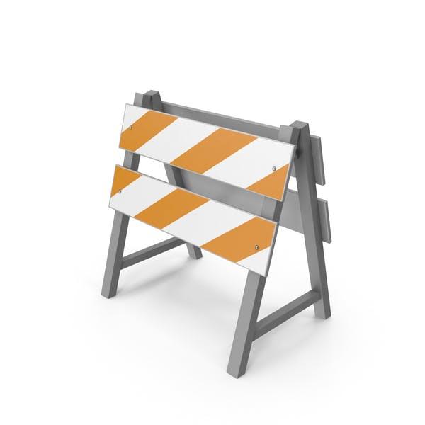 Straßenbau Barriere