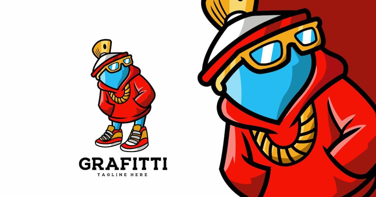 Download Spray Mascot Cartoon Character Logo by elevencreativee