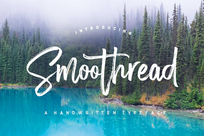 Thumbnail for Smoothread Font