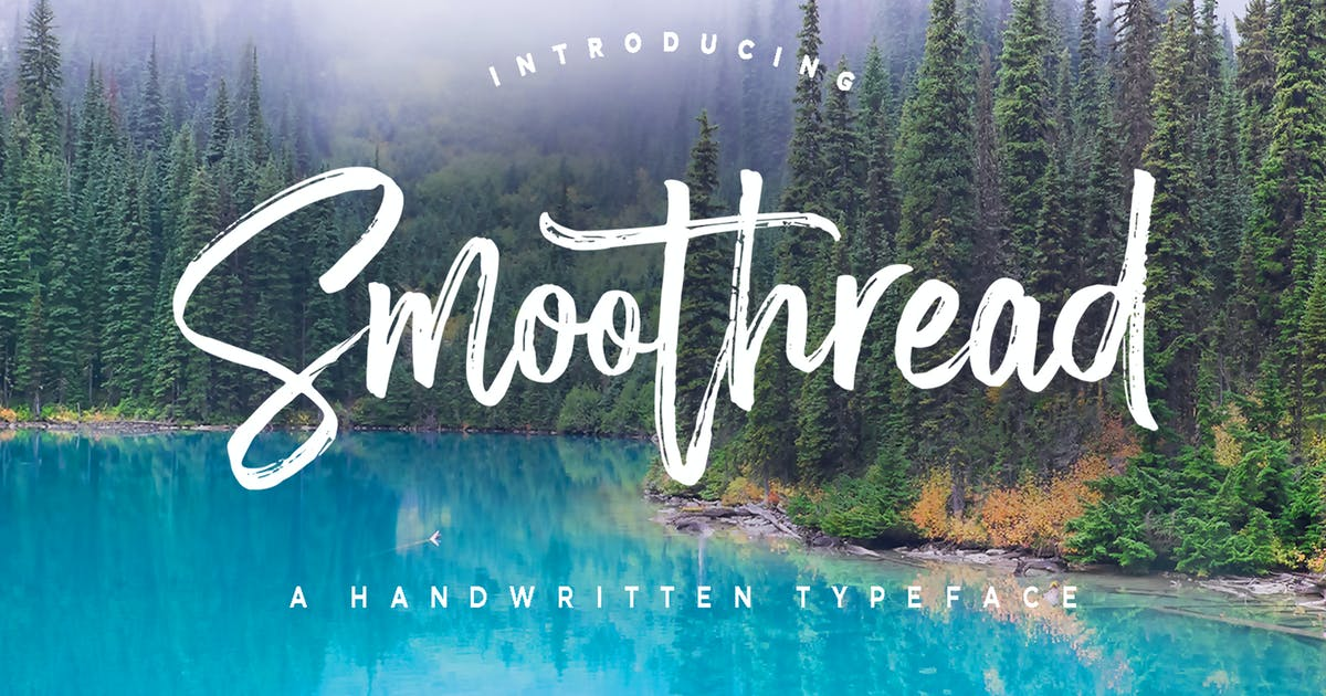 Download Smoothread Font by dhanstudio
