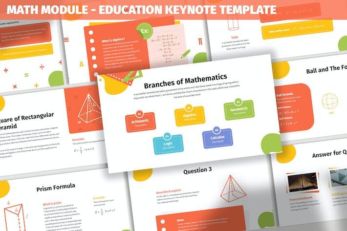 Math Module - Education Keynote Template