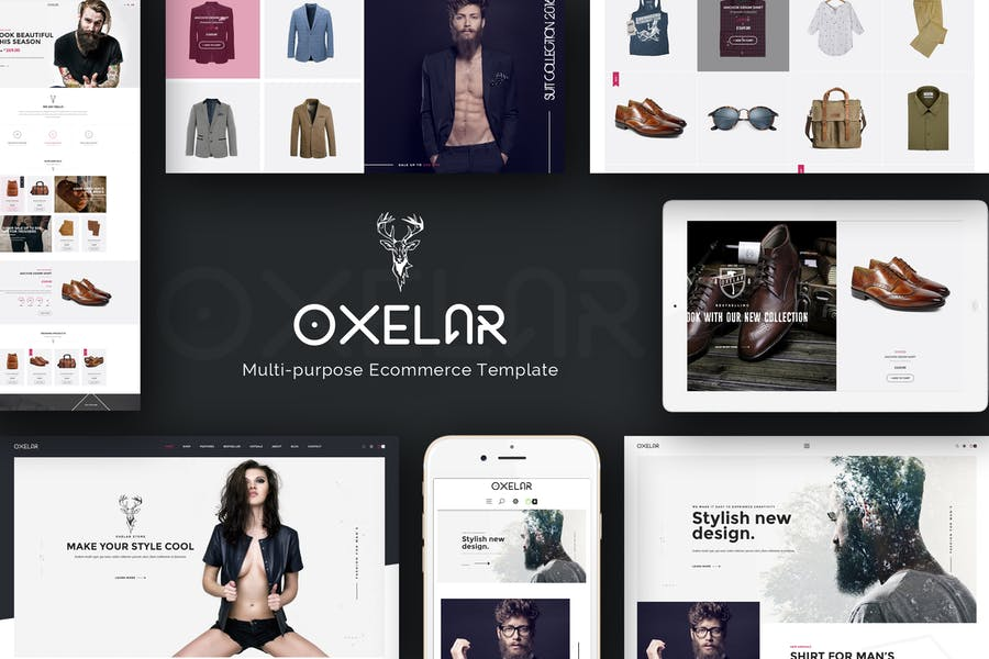 Oxelar - New Theme for Prestashop with New Styles