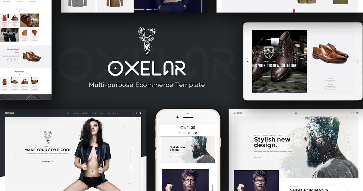 Download Oxelar - New Theme for Prestashop with New Styles by Plaza-Themes
