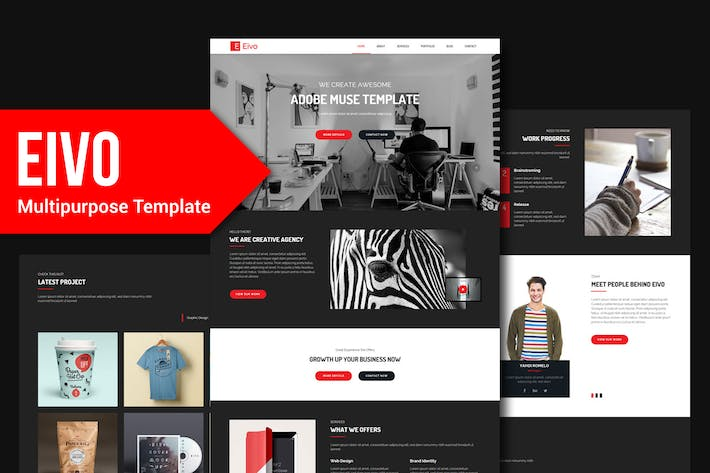 Thumbnail for EiVO - Multipurpose Muse Template