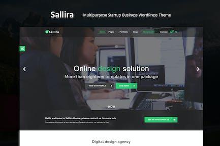 Sallira - Multipurpose Startup WordPress Theme