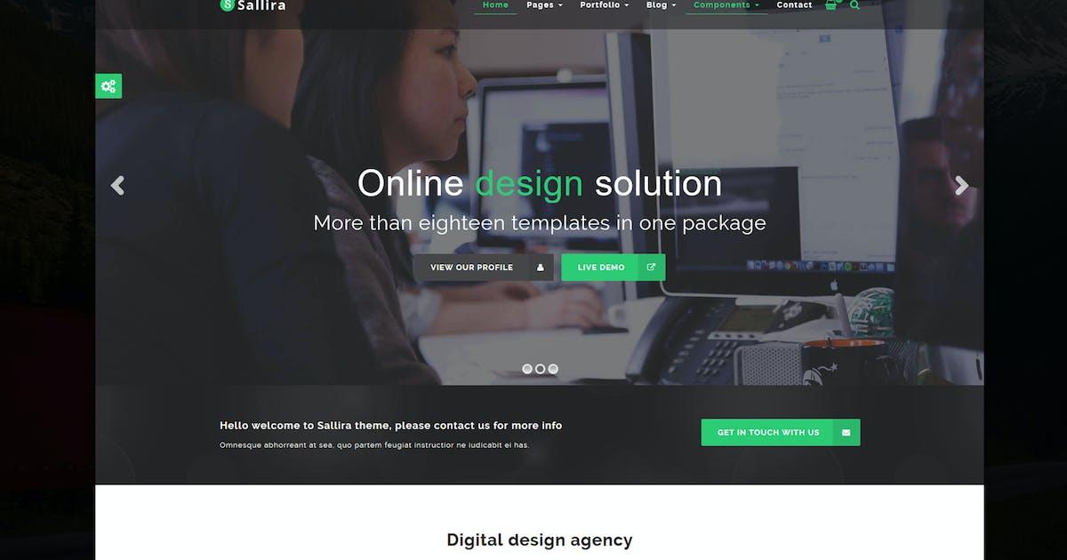 Sallira - Multipurpose Startup WordPress Theme by Theme-Squared