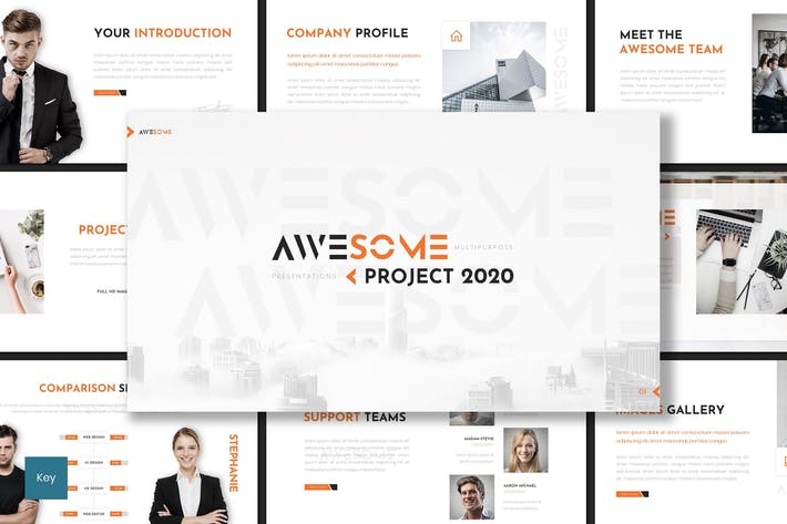 Thumbnail for Awesome - Keynote Template