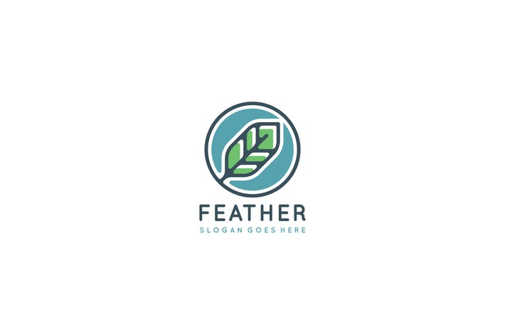 Thumbnail for Feather Logo Design