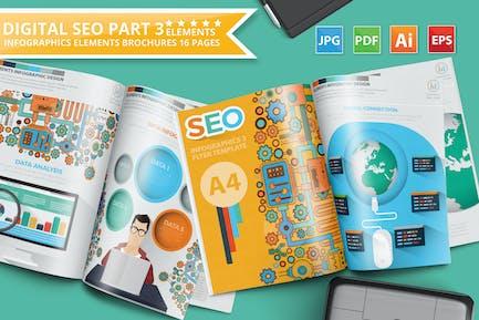 SEO Search Engine Optimisation Infographic Design