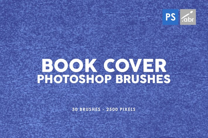 Thumbnail for 30 Retro Book Cover Photoshop Stamp Brushes