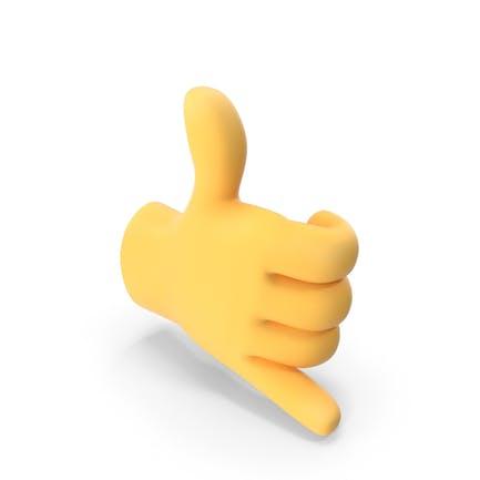 Зови меня рукой Emoji