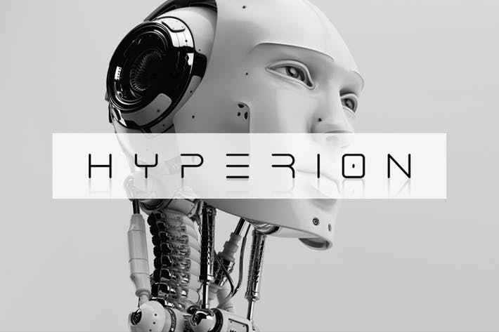 Thumbnail for Hyperion Typeface